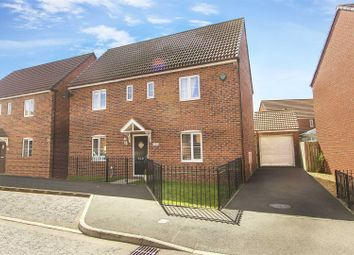 Thumbnail 4 bed detached house for sale in Cloverfield, West Allotment, Newcastle Upon Tyne