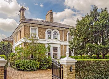 Thumbnail 5 bed semi-detached house for sale in Palace Road, East Molesey