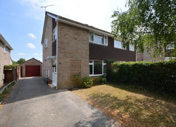 Thumbnail 3 bed semi-detached house for sale in Pepys Close, Saltford