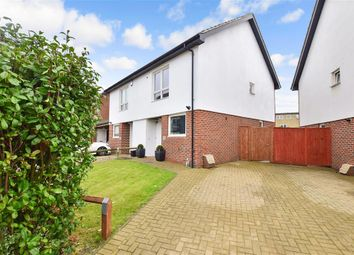 Thumbnail 2 bed semi-detached house for sale in Nursery Grove, Gravesend, Kent
