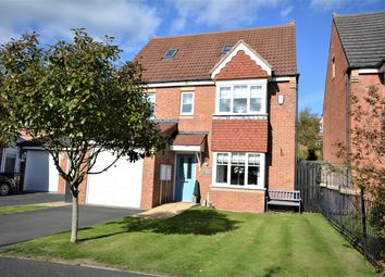 Thumbnail 5 bed detached house for sale in Flambard Drive, Bracks Farm, Bishop Auckland