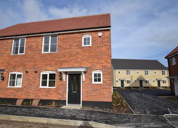 Thumbnail 2 bed semi-detached house for sale in Ellis Gardens, Off Reach Road, Burwell
