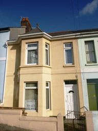 Thumbnail 3 bed terraced house to rent in Mostyn Avenue, Plymouth