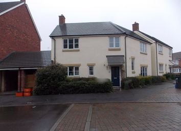 Thumbnail 4 bed detached house to rent in Vistula Crescent, Swindon