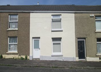 Thumbnail 2 bedroom terraced house for sale in Lynn Street, Cwmbwrla, Swansea, City And County Of Swansea.