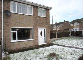 Thumbnail 3 bed semi-detached house for sale in Holly Grove, Rossington