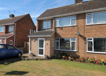 Thumbnail 3 bedroom semi-detached house to rent in Castle Drive, Northborough, Peterborough