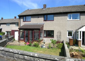 Thumbnail 3 bed semi-detached house for sale in The Croft, Thropton, Morpeth, Northumberland