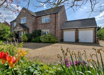 Thumbnail 5 bed detached house for sale in March Road, Welney, Wisbech