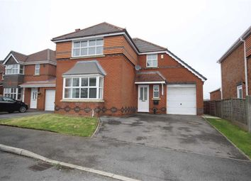 Thumbnail 4 bed detached house for sale in Highcrest Grove, Tyldesley, Manchester