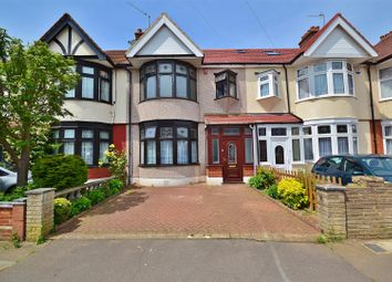 Thumbnail 3 bed terraced house to rent in Sandringham Gardens, Barkingside, Ilford