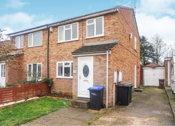 Thumbnail 3 bed semi-detached house for sale in Lowlands Close, Northampton