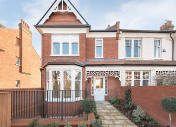Thumbnail 4 bedroom end terrace house for sale in Grand Avenue, Muswell Hill