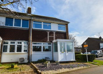 Thumbnail 2 bedroom end terrace house for sale in Eagle Way, Shoeburyness, Essex