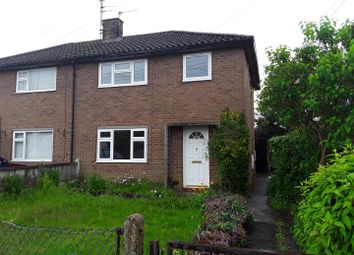 Thumbnail 3 bed semi-detached house for sale in Hallcroft Gardens, Newport