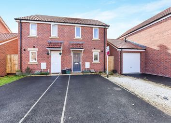 Thumbnail 2 bed semi-detached house for sale in Pippin Road, Bathpool, Taunton