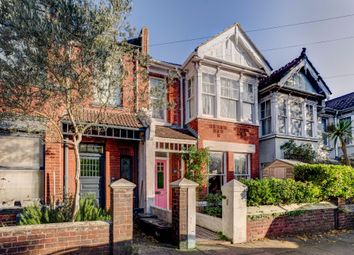 Thumbnail 3 bed terraced house for sale in Hollingbury Park Avenue, Brighton