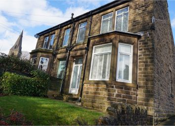Thumbnail 3 bed semi-detached house for sale in St. Marys Road, New Mills