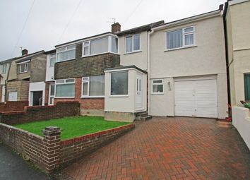 Thumbnail 4 bed semi-detached house for sale in Priory Drive, Plympton, Plymouth, Devon