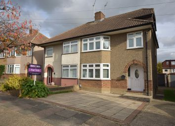 Thumbnail 4 bed semi-detached house for sale in Kingfisher Road, Upminster