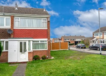 Thumbnail 2 bedroom end terrace house for sale in Norfolk Grove, Great Wyrley, Walsall