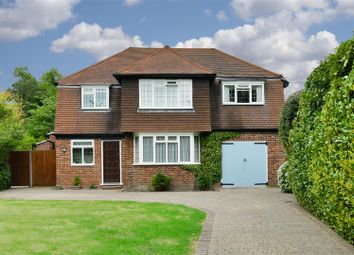 Thumbnail 4 bed detached house for sale in Wray Park Road, Reigate