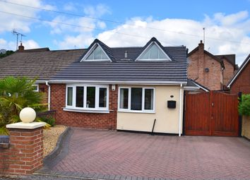 Thumbnail 3 bed semi-detached bungalow for sale in Shakespeare Close, Kidsgrove, Stoke-On-Trent
