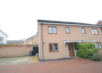 Thumbnail 3 bed semi-detached house to rent in Highpath Way, Basingstoke