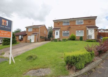 Thumbnail 2 bed semi-detached house to rent in Wolverton Drive, Norton, Runcorn