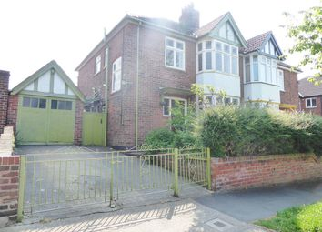Thumbnail 3 bed semi-detached house for sale in Manor Drive South, Acomb, York