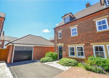 Thumbnail 3 bed town house for sale in Pennard Close, Bedford