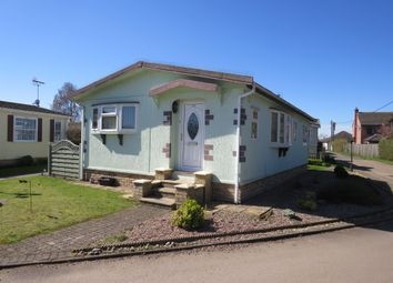 Thumbnail 2 bed mobile/park home for sale in Rozel Court, Beck Row, Bury St. Edmunds