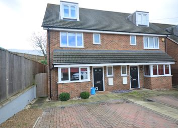 Thumbnail 4 bed town house to rent in Randall Road, Chatham