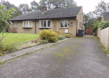 Thumbnail 3 bed semi-detached bungalow for sale in Wood Gardens, Hayfield, High Peak