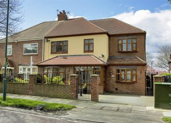 Thumbnail 3 bedroom semi-detached house for sale in West Avenue, South Shields, Tyne And Wear
