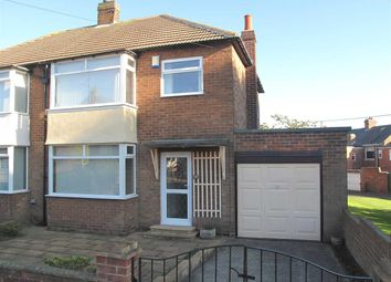 Thumbnail 3 bed semi-detached house to rent in Northfield Drive, West Moor, Newcastle Upon Tyne