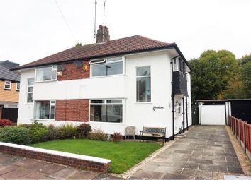 Thumbnail 3 bedroom semi-detached house for sale in Parkwood Road, Manchester