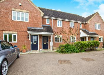 Thumbnail 2 bed terraced house for sale in Fox Hole Close, Warboys, Huntingdon