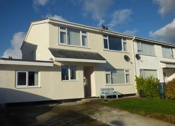 Thumbnail 3 bedroom semi-detached house for sale in Cae Cali, Brynteg, Anglesey, North Wales