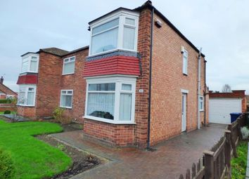 Thumbnail 3 bed semi-detached house for sale in Blantyre Road, Normanby, Middlesbrough