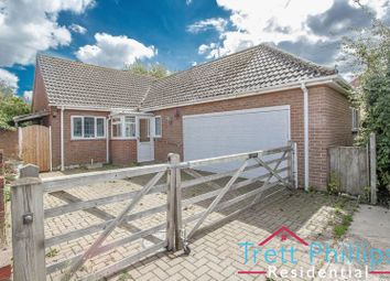 Thumbnail 2 bed detached bungalow for sale in The Street, Hickling, Norwich