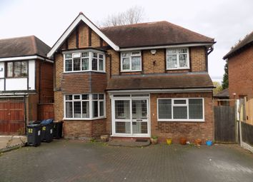 Thumbnail 4 bed detached house for sale in Gibson Road, Handsworth, Birmingham
