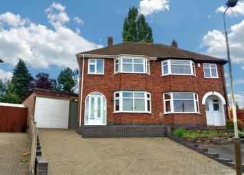 Thumbnail 3 bedroom semi-detached house for sale in Ditchling Avenue, Western Park, Leicester