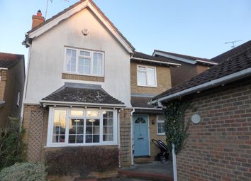 Thumbnail 4 bed detached house to rent in The Elms, Hertford