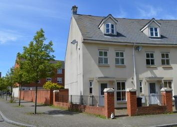 Thumbnail 4 bed town house for sale in Longridge Way, Weston Village, Weston Super Mare