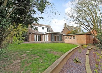 Thumbnail 3 bed detached house to rent in Church Close, Poringland, Norwich
