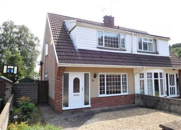 Thumbnail 3 bed semi-detached house for sale in Glyn Bedw, Cwm Las, Llanbradach, Caerphilly