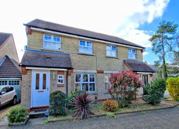 Thumbnail 3 bedroom semi-detached house for sale in Brenda Gautrey Way, Cottenham, Cambridge