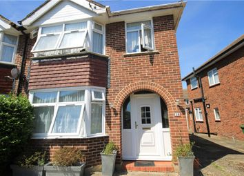 Thumbnail 3 bed semi-detached house to rent in Lodge Way, Ashford, Surrey