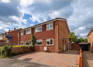 Thumbnail 3 bedroom semi-detached house for sale in Tippings Lane, Woodley, Reading